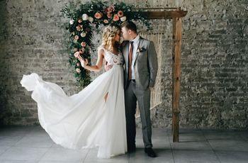 Elementos imprescindíveis para um casamento industrial chic