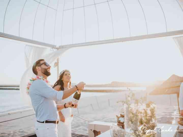 Onde celebrar o copo de água? As 3 opções favoritas dos noivos