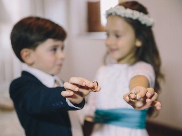 Como vestir as crianças que levam as alianças?