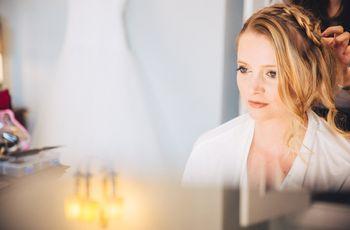 O penteado de noiva ideal para o teu rosto