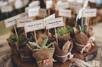 6 Ideias para lembranças de casamento personalizadas