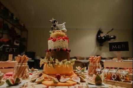 Bolo de casamento de queijo: 7 fatores a ter em conta
