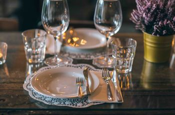 Casar num restaurante: vantagens e desvantagens
