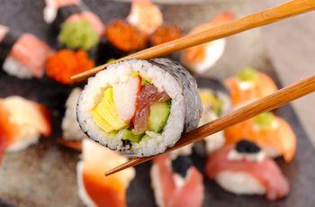 Casamento com buffet livre de sushi: tudo o que precisas de saber!