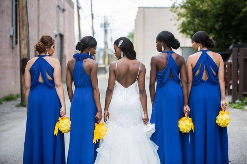 As damas de honor: A, B ou C? 1