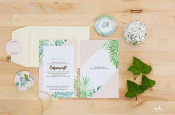 Convites de casamento: as ideias mais bonitas