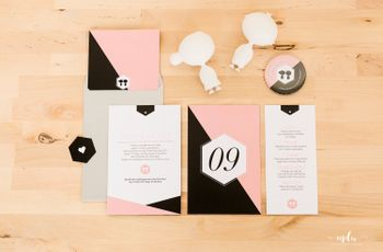 6 convites de casamento simples que não podes perder!