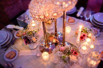 7 ideias para decorar o casamento com velas