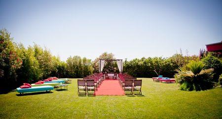 Celebramos o casamento num hotel ou numa quinta?