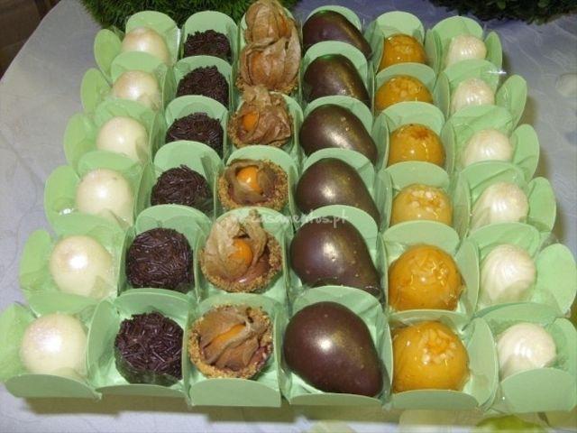 Lembranças de casamento de chocolate