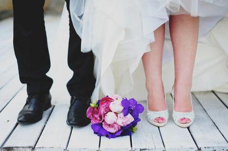 Levar um segundo par de sapatos no teu casamento
