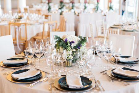 10 estilos de arranjos florais para as mesas do casamento
