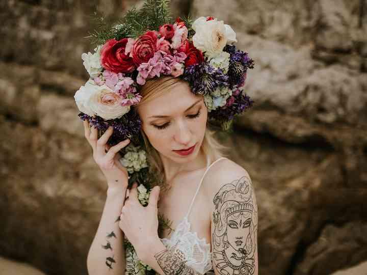 30 coroas de flores para as noivas boho