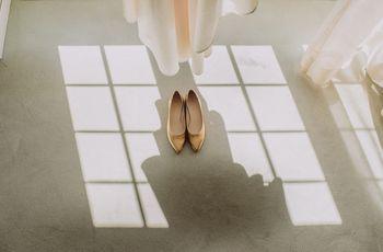 50 sapatos de salto baixo para as convidadas