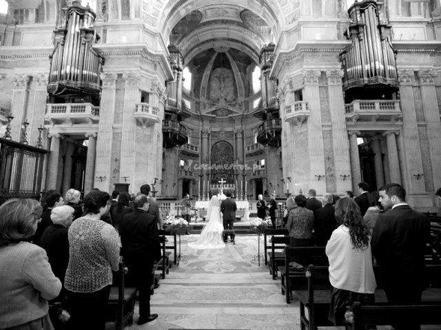 O cortejo da cerimónia religiosa