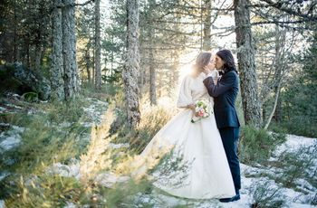 Casamentos no inverno: 30 fotos para inspirar-vos
