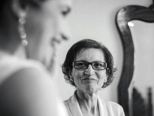O papel da mãe da noiva