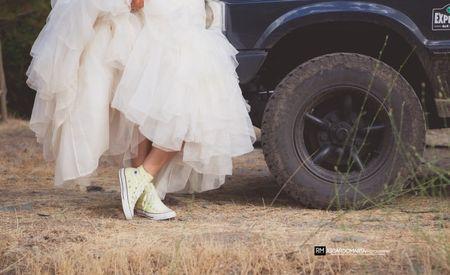 Ténis para noiva