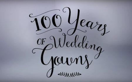 100 anos de vestidos de noiva. Descobre como mudaram as tendências em 3 minutos!
