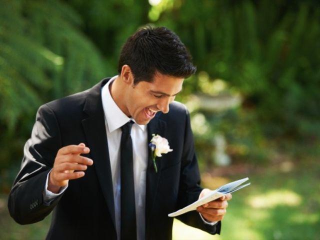 Quando fazer um discurso de casamento