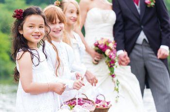 Cestas de flores para o vosso casamento
