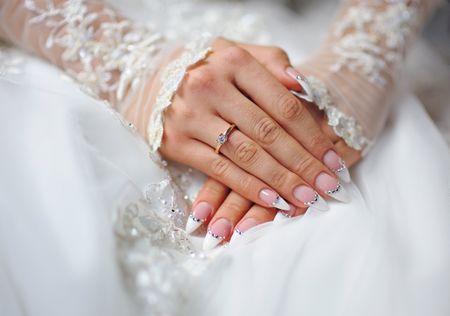 Unhas decoradas para o casamento... atreves-te?