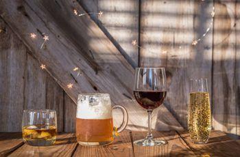 6 ideias para dar um toque de originalidade às bebidas do casamento