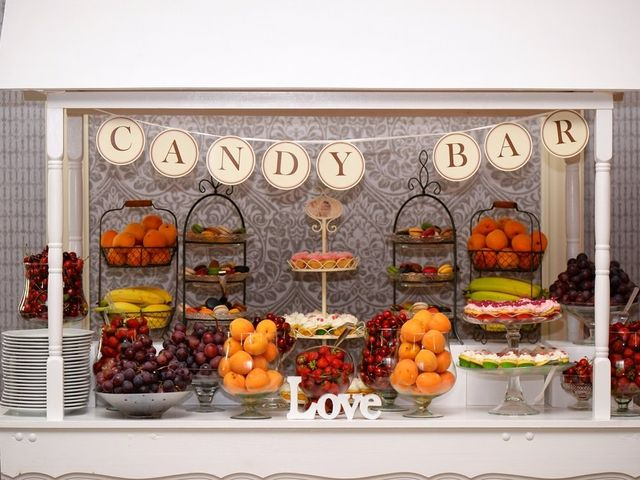 Candy Bar ao estilo Halloween