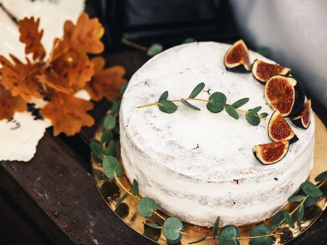 Bolos de casamento inspirados no Outono
