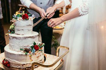 Bolos de casamento simples: quando menos é mais