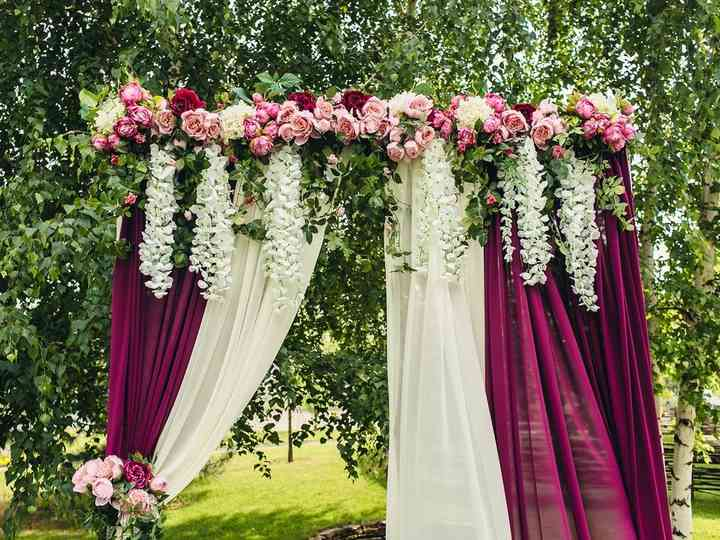 Decoração de casamento marsala: ideias para fazer uma festa