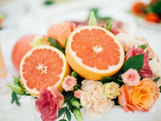 Ideias para incorporar frutas na decoração do casamento