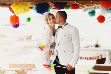 7 coisas que deves ter em consideração quando escolheres a paleta de cores do teu casamento
