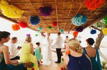 Casamento colorido: diversão e descontração!