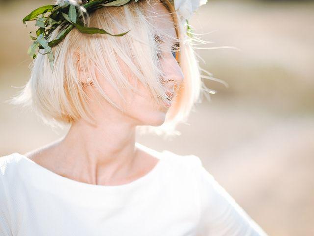 Penteados e acessórios para noivas com o cabelo curto
