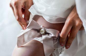 A liga da noiva: tradição e significado