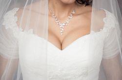 Vestidos para noivas com muito peito