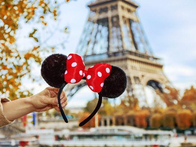 Uma lua de mel mágica na Disneyland Paris