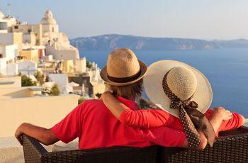 Lua de mel pelas ilhas gregas: uma rota de sonho!