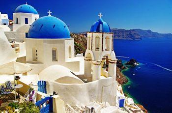 Lua de mel em Santorini, a mais romântica de todas as ilhas gregas