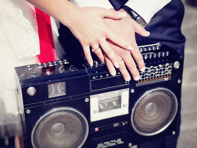 Entre o DJ e o grupo de música