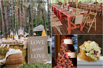 10 cores tendência para casamentos outono-inverno 2016/2017