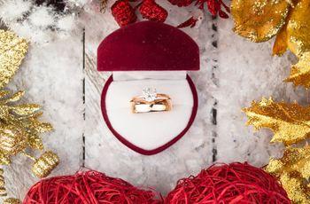 As melhores ideias para um pedido de casamento no Natal