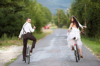 10 meios de transporte originais para os noivos