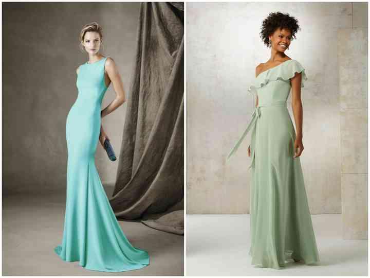 Como combinar um vestido verde água | Vestido verde