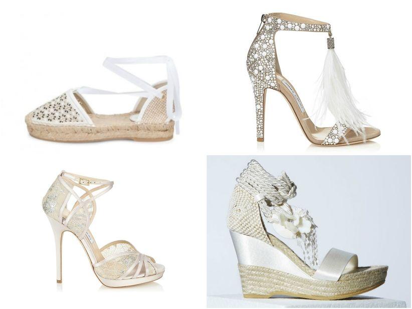 c5e1b81de Que sapatos usar num casamento na praia