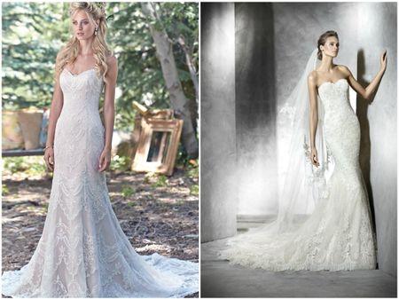 15 vestidos de noiva com decote coração