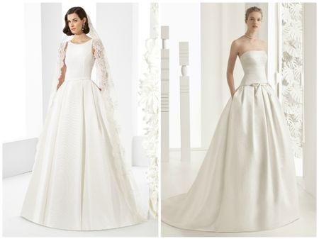 15 vestidos de noiva românticos para 2017