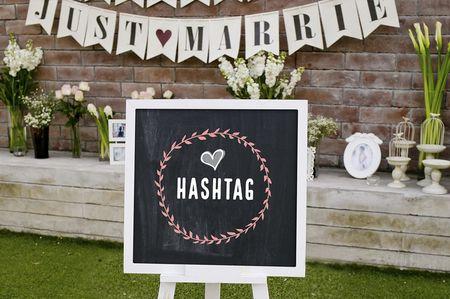 Como escolher o hashtag perfeito para o teu casamento?