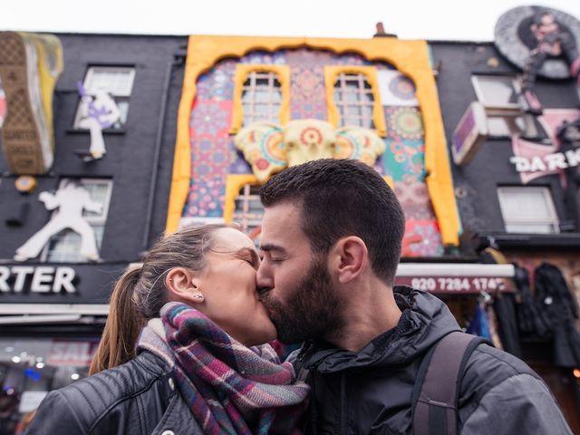 Susana e Paco: um pedido de casamento em Londres
